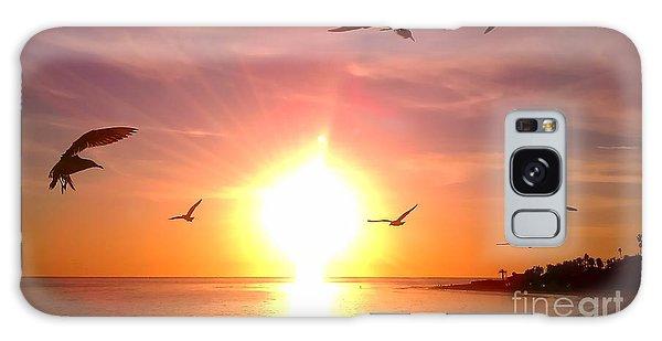 Malibu Paradise Galaxy Case by Chris Tarpening