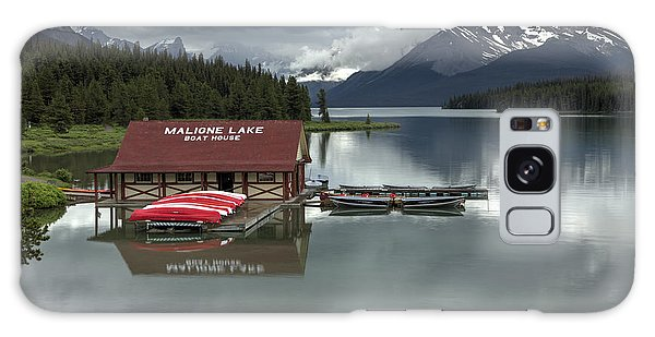 Maligne Lake Jasper Park Galaxy Case