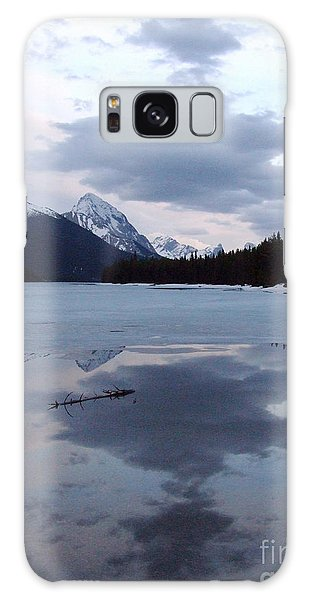 Maligne Lake - Reflections Galaxy Case by Phil Banks