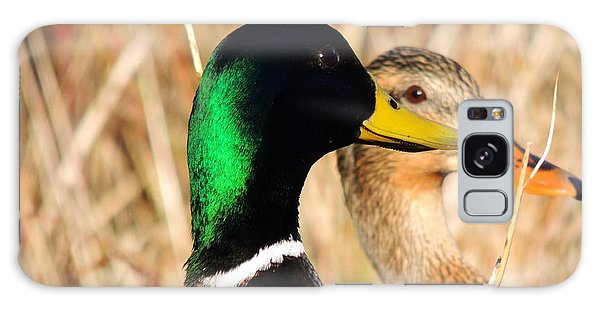 Mallard Couple Galaxy Case