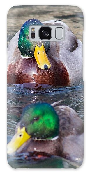 Mallard Train Galaxy Case
