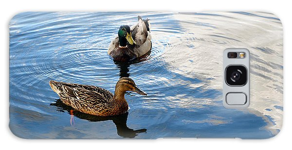 Mallards Lake Hopatcong Nj Galaxy Case by Maureen E Ritter