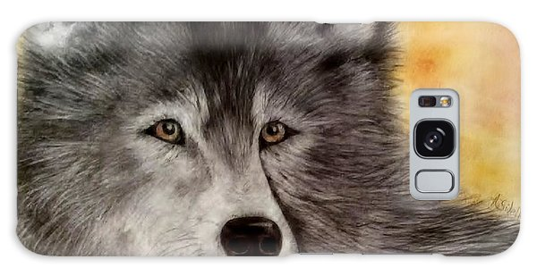 Mama Wolf Galaxy Case