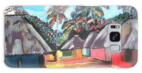 Mamboima The Tamarinds Village Galaxy Case by Mudiama Kammoh