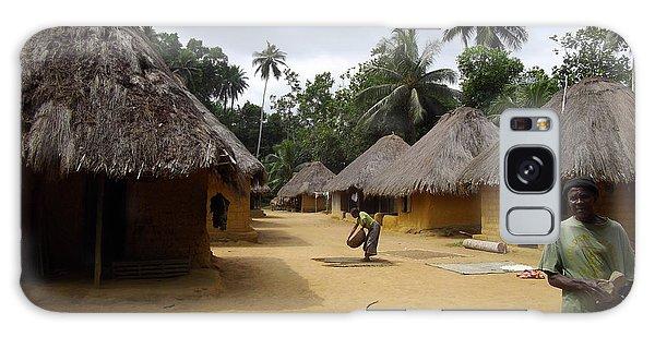 Mamboima Village Galaxy Case by Mudiama Kammoh