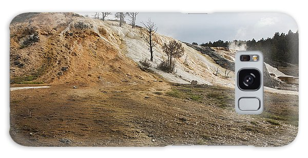Mammoth Hot Springs Galaxy Case by Belinda Greb