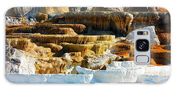 Mammoth Hot Springs Rock Formation No1 Galaxy Case