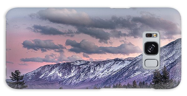 Mammoth Mountain Near Mammoth Lakes Galaxy Case by Carol M Highsmith