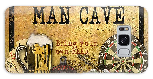 Man Cave-bring Your Own Beer Galaxy Case by Jean Plout