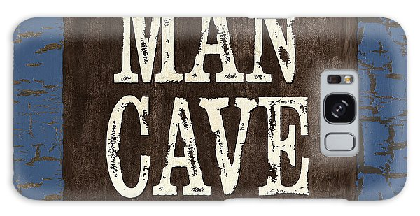 Man Cave Enter At Your Own Risk Galaxy Case