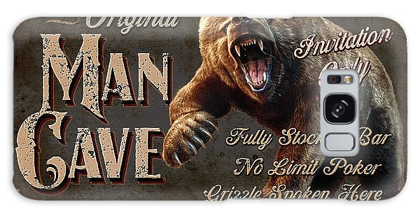 Man Cave Grizzly Galaxy Case