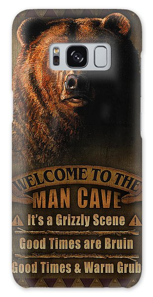 Turkey Galaxy Case - Man Cave Grizzly by JQ Licensing