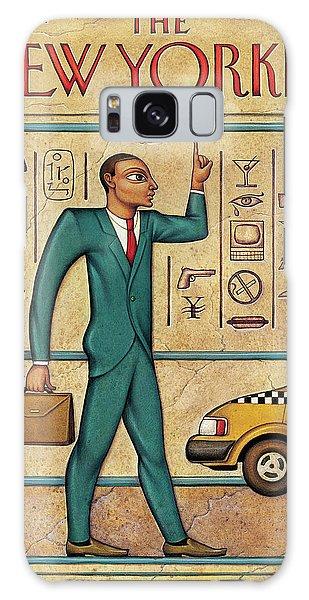 Egypt Galaxy Case - Tuts Taxi by Anita Kunz