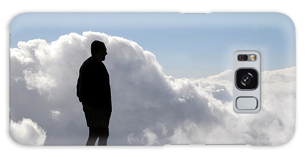 Man In The Clouds Galaxy Case