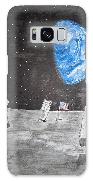 Man On The Moon Galaxy Case