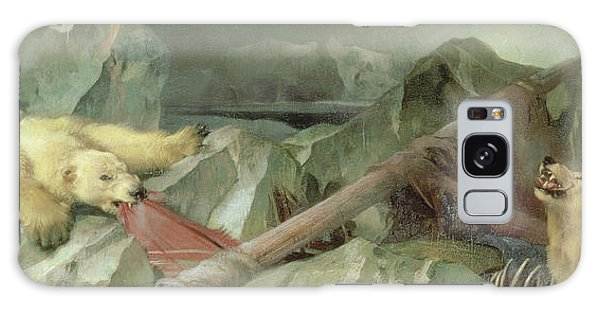 Crt Galaxy Case - Man Proposes, God Disposes, 1864 by Sir Edwin Landseer