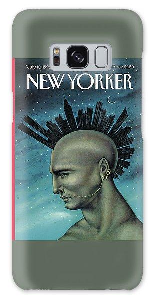 Mohawk Manhattan Galaxy Case
