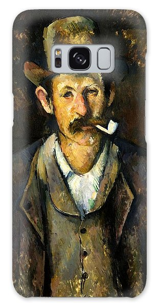 Art Institute Galaxy Case - Man With Pipe by Paul Cezanne