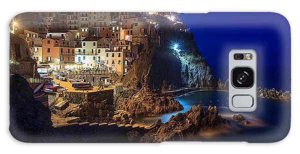 Manarola At Night Galaxy Case