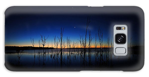 Manasquan Reservoir At Dawn Galaxy Case