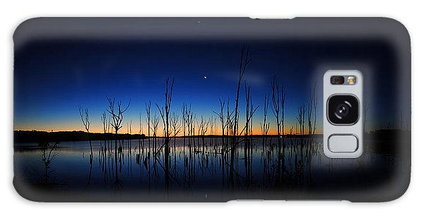Manasquan Reservoir At Dawn Galaxy Case
