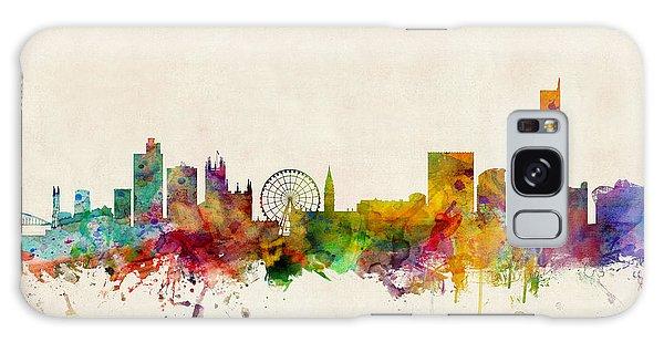 Manchester England Skyline Galaxy Case