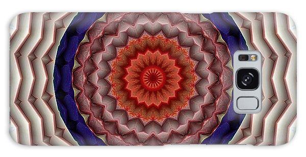 Mandala 10 Galaxy Case by Terry Reynoldson
