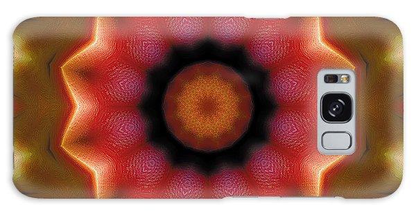 Mandala 103 Galaxy Case by Terry Reynoldson