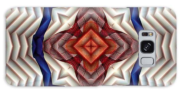 Mandala 11 Galaxy Case by Terry Reynoldson