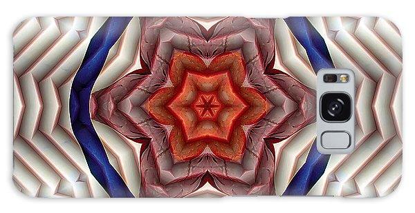 Mandala 12 Galaxy Case by Terry Reynoldson
