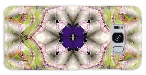 Mandala 127 Galaxy Case by Terry Reynoldson
