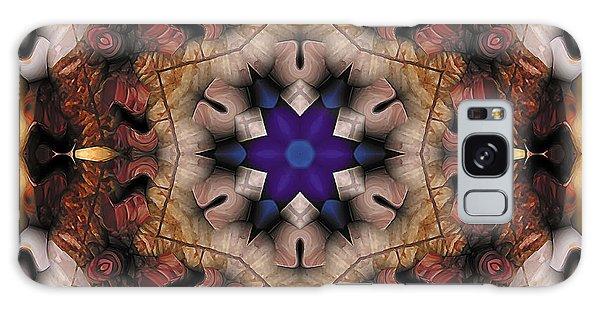 Mandala 16 Galaxy Case by Terry Reynoldson