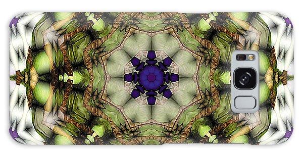 Mandala 21 Galaxy Case by Terry Reynoldson