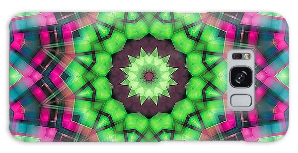 Mandala 29 Galaxy Case by Terry Reynoldson