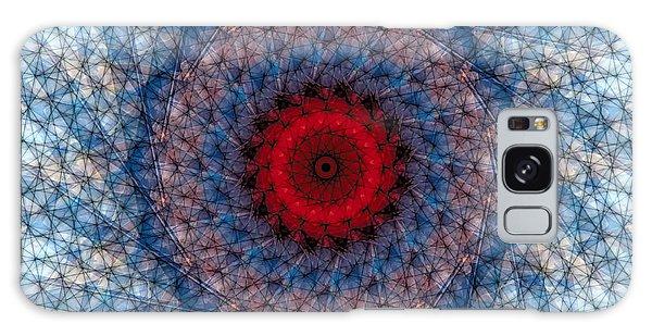 Mandala 3 Galaxy Case by Terry Reynoldson