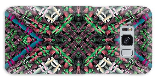 Mandala 32 Galaxy Case by Terry Reynoldson