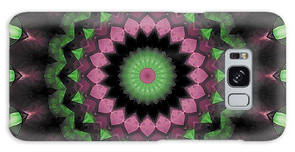 Mandala 34 Galaxy Case by Terry Reynoldson
