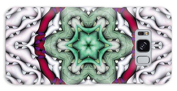 Mandala 7 Galaxy Case by Terry Reynoldson