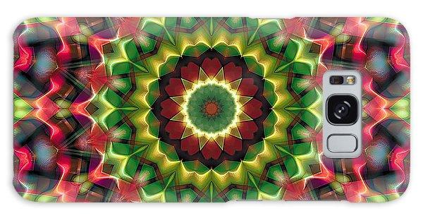 Mandala 70 Galaxy Case by Terry Reynoldson