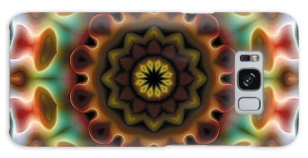 Mandala 74 Galaxy Case by Terry Reynoldson