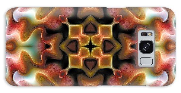 Mandala 76 Galaxy Case by Terry Reynoldson