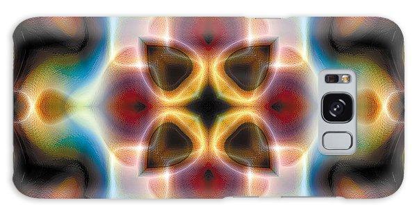 Mandala 77 Galaxy Case by Terry Reynoldson