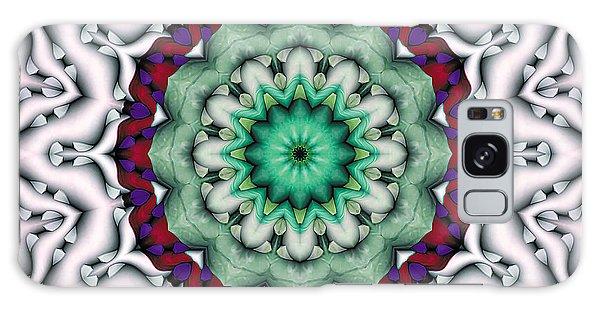 Mandala 8 Galaxy Case by Terry Reynoldson
