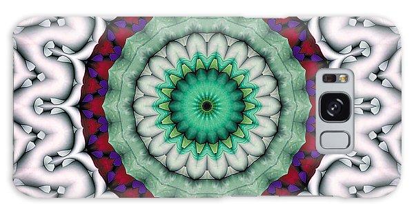 Mandala 9 Galaxy Case by Terry Reynoldson