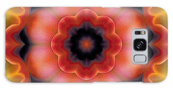 Mandala 91 Galaxy Case by Terry Reynoldson