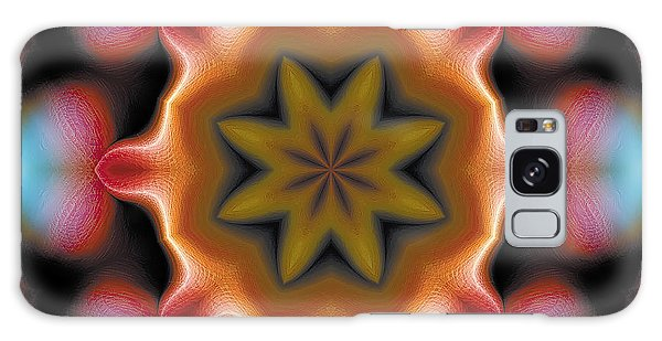 Mandala 94 Galaxy Case by Terry Reynoldson