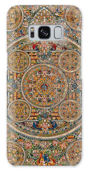 Mandala Of Heruka In Yab Yum And Buddhas Galaxy Case