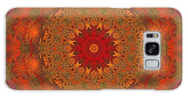 Mandala Of The Rising Sun - Spiritual Art By Giada Rossi Galaxy Case
