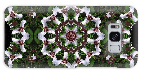 Mandala Trillium Holiday Galaxy Case