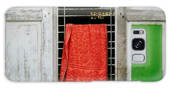 Mandalay Window Scene Galaxy Case